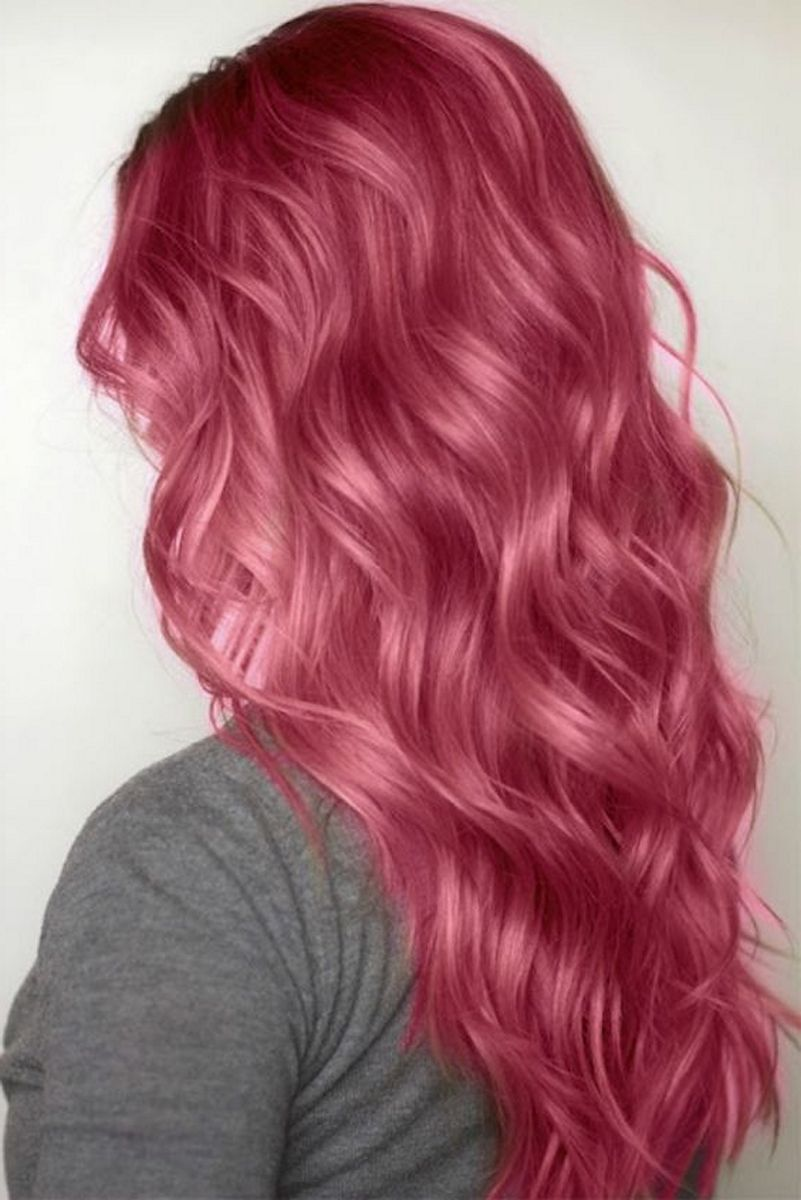 Colorful Pink Hairstyles (2) • DressFitMe